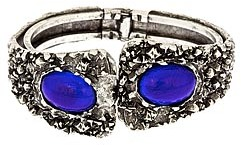 Yochi Cobalt Rock Cuff Bracelet