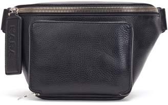 Kara Large Leather Bum Bag