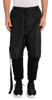 Taverniti So Ben Unravel Project Silk Double Layer Sweatpants