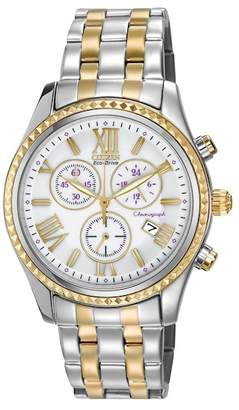 Citizen Women's Chronograph Eco-Drive Two-Tone Stainless Bracelet Watch, 40mm