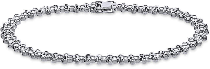 Mickey Mouse Cubic Zirconia Bracelet - Disney Designer Jewelry Collection