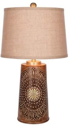 Jalexander Lighting JAlexander Sadie Faux Wood Table Lamp