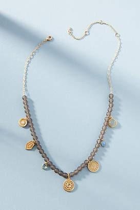 Anthropologie Medallions Statement Necklace