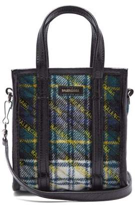 Balenciaga Bazar Shopper Xxs - Womens - Green Multi
