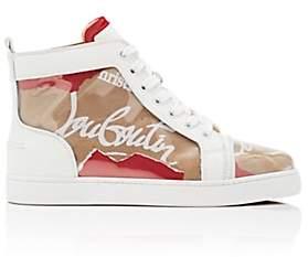 Christian Louboutin Women's Louis Woman Flat PVC Sneakers - Version Kraft