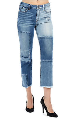 True Religion STOVE PIPE DECONSTRUCTED STRAIGHT WOMENS JEAN