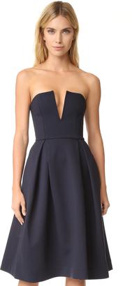Nicholas Strapless Ball Dress $455 thestylecure.com