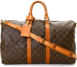 Louis Vuitton Monogram Keepall 45 Bandouliere Travel Bag - Vintage
