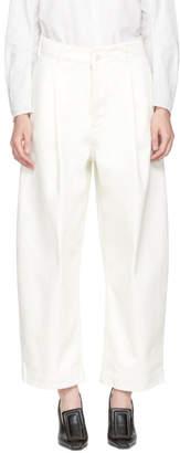 Studio Nicholson Off-White Bonnard Balloon Jeans