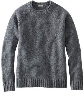 L.L. Bean Women's L.L.Bean Classic Ragg Wool Sweater, Crewneck Raglan Sleeve