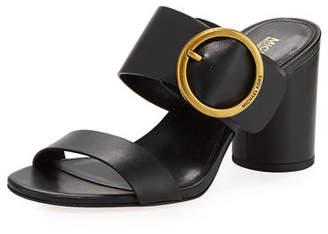 MICHAEL Michael Kors Estelle Mid-Heel Slide Sandals