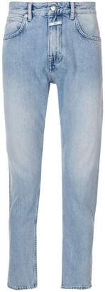 Closed bleached denim jeans