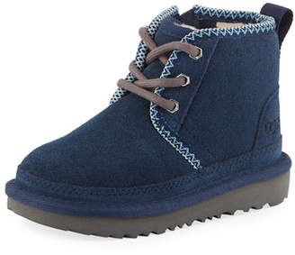 UGG Neumel II Suede Lace-Up Boots, Toddler