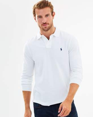 Polo Ralph Lauren Custom Slim Fit LS Mesh Polo