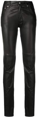 Maison Margiela skinny leather trousers