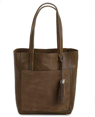 Lily & Ivy Suede Pocket Tote - Women's