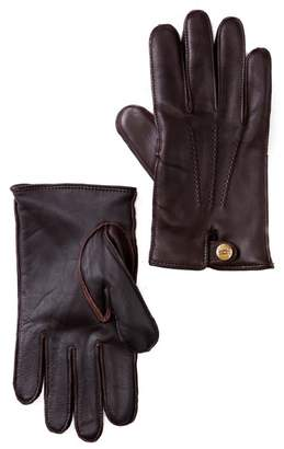 UGG Faux Fur Lined 3 Point Snap Smart Glove