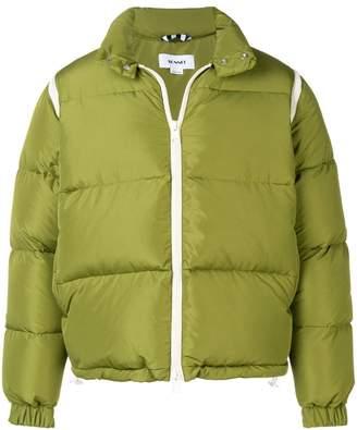 Sunnei zipped puffer jacket