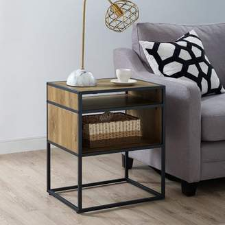 "Mainstays Atmore 20"" Cube Side Table"