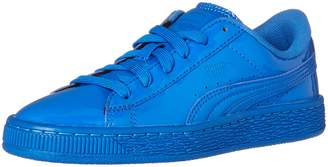 Puma Basket Classic Youth US 5 Blue Sneakers