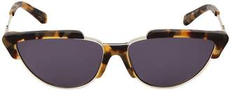 Karen Walker Tropics Crazy Tort Sunglasses