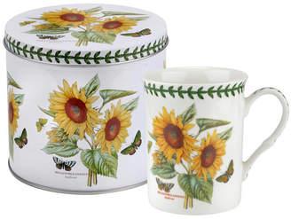 Portmeirion Botanic Garden Mug and Tin Set - Sunflower