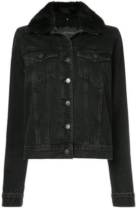 Nobody Denim Fleur Jacket (Faux Collar) Plush