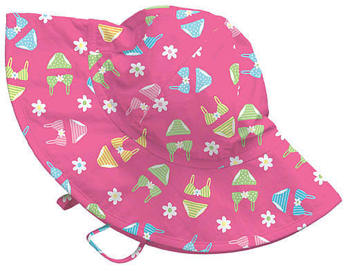 I Play I-Play Bikini Brim Hat - Pink (0-6 Months)