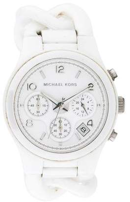 Michael Kors Ceramic Classic Chronograph Watch
