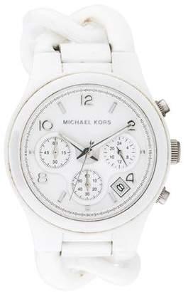 Michael Kors Ceramic Classic Chronograph Watch