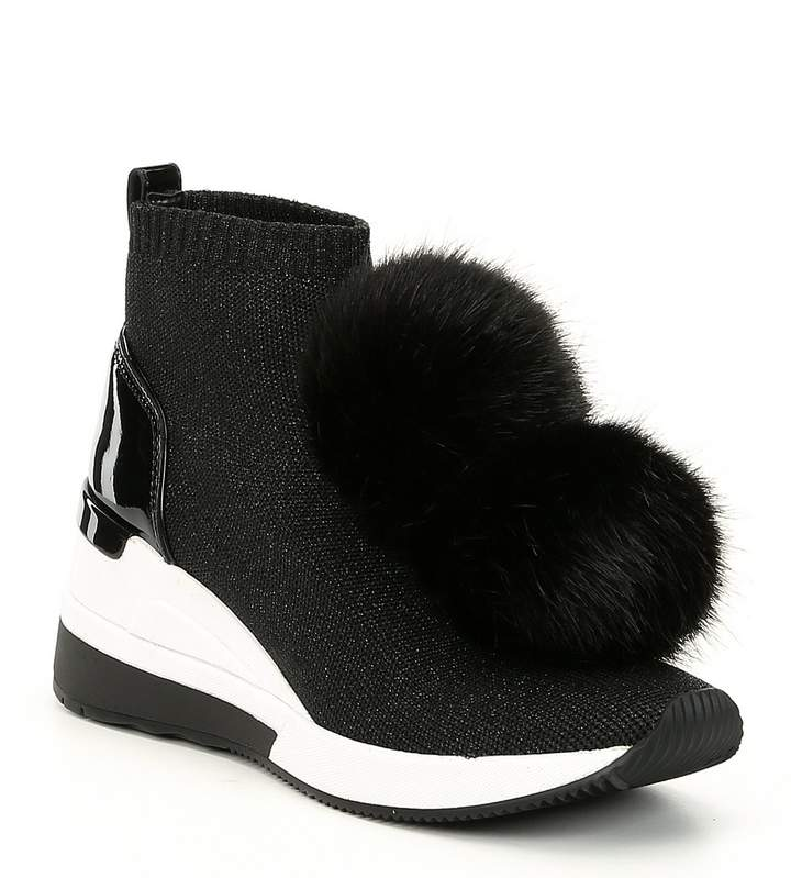 Michael Michael Kors MICHAEL Michael Kors Skyler Wedge Sneaker Booties