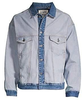 Levi's Men's The New West About Face Denim Trucker Jacket