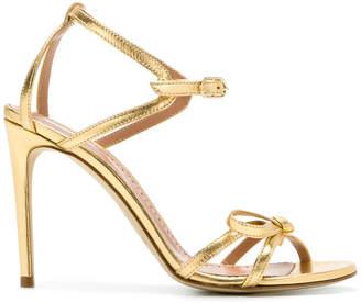 Twin-Set open toe stiletto sandals