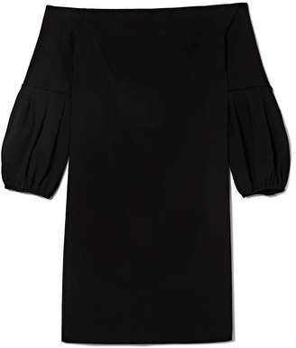Vince Camuto Off-the-shoulder Bubble-sleeve Dress