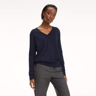 Tommy Hilfiger Essential Wool V-Neck Sweater