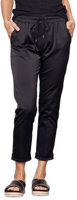 David Lerner Kennedy Tapered Cargo Jogger Pants
