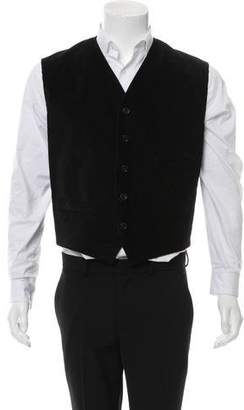 Dolce & Gabbana Corduroy Suit Vest