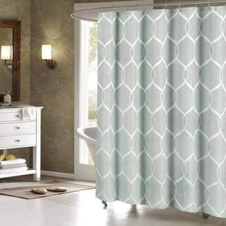 Generic Quey Wrinkle Wave Fabric Shower Curtain