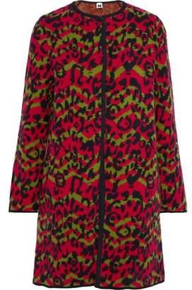 M Missoni Wool-jacquard Coat