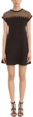 RED Valentino Black Jersey Dress