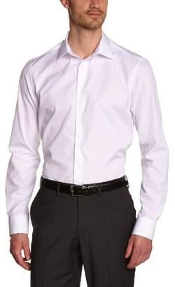 Atelier Privé Men's popeline col classique Classic Long Sleeve Formal Shirt