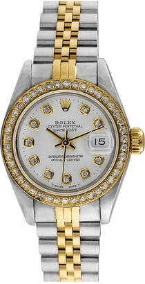 Rolex Heritage  1980S Women's Datejust Diamond Watch