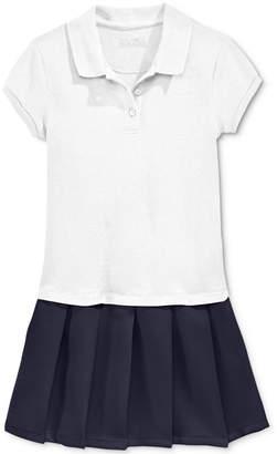 Nautica School Uniform Pleated Polo Dress, Little Girls (4-6X)