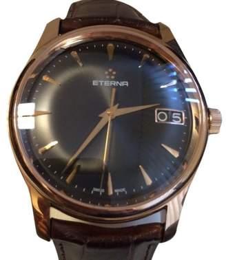 Eterna Vaughan Big Date 18K Rose Gold Automatic 42mm Watch