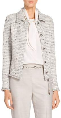 St. John Josephine Tweed Knit Jacket
