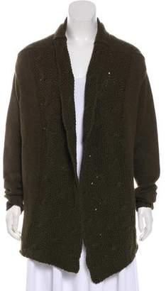 Vince Wool-Blend Knit Cardigan
