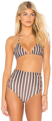 Acacia Swimwear Humuhumu Triangle Top