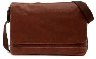 Frye Owen Leather Messenger Bag