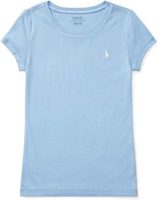 Ralph Lauren Cotton-Blend Crewneck T-Shirt