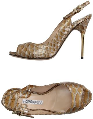 LUCIANO PADOVAN Sandals $378 thestylecure.com
